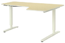[E-COM06] Corner Desk Right Sit
